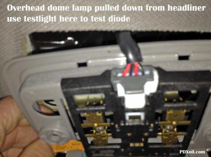 Kia sedona interior lights not working for Kia sorento interior lights wont turn off
